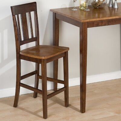 Triple Upright 24 Bar Stool (Set of 2)