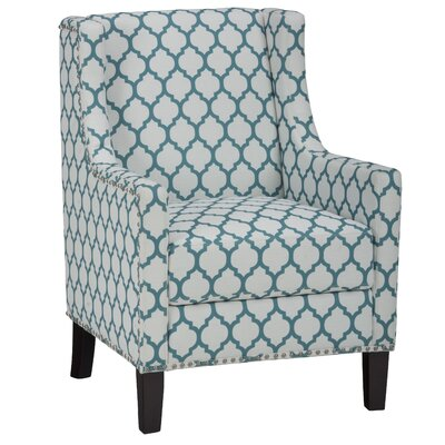 Jean Arm Chair Upholstery: Aqua