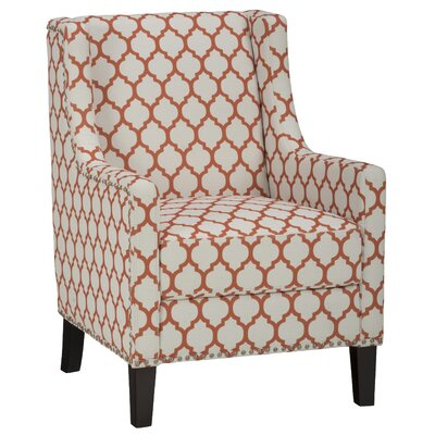 Jean Arm Chair Upholstery: Persimmon
