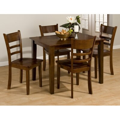 Cheap Jofran 5 Piece Rectangular Dining Set in Rich and Warm Toned (JFI1721)