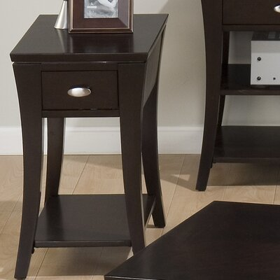 Cheap Jofran Chair Side Table in Rich and Dark Cherry (JFI1640)