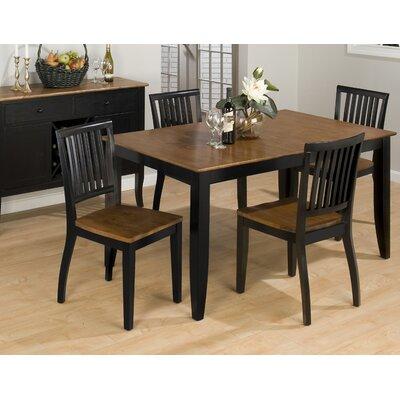 dining table distressed black apron dining table. Black Bedroom Furniture Sets. Home Design Ideas