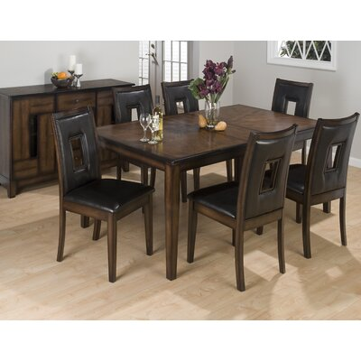 Cheap Jofran Rectangular Dining Table in Warm Brown (JFI1800)