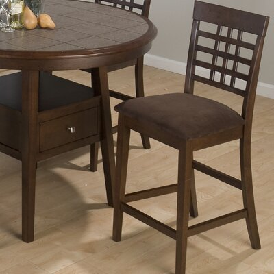 Rent Weave Grid Counter Height Stool wit...