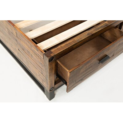 Norwalk Storage Bed Size: King