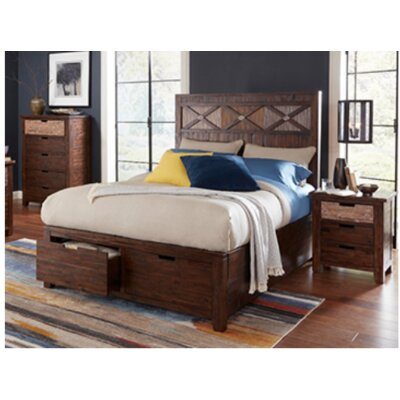 Rotterdam Storage Platform Bed Size: King