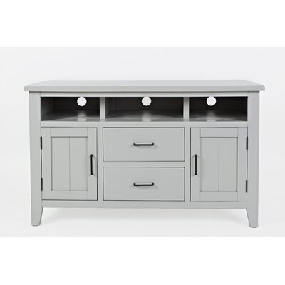 Criswell 50 TV Stand Color: Dove