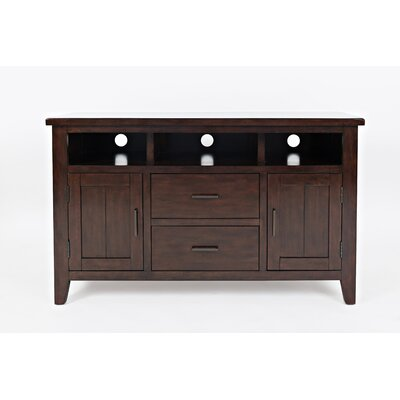 Criswell 50 TV Stand Color: Birch Cherry