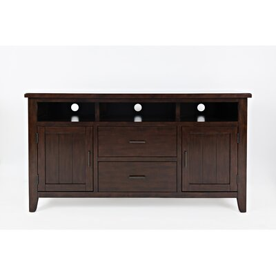 Criswell 60 TV Stand Color: Birch Cherry