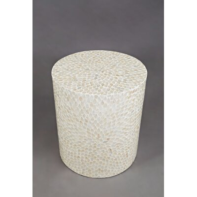 Germain Round End Table Color: Natural