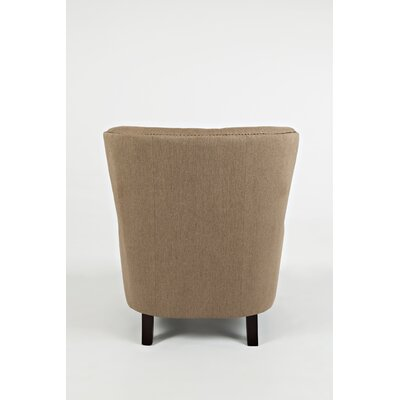 Gaines Wingback Chair Upholstery: Chestnut