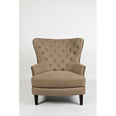 Seneca Wingback Chair Upholstery: Chestnut