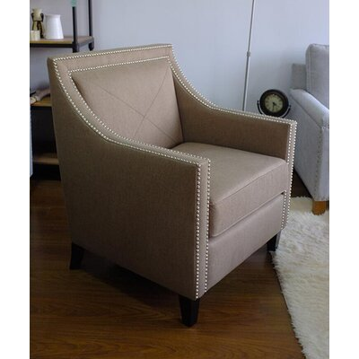 Detroit Club Chair Upholstery: Chestnut