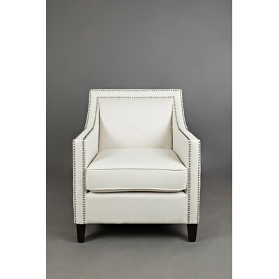 Detroit Club Chair Upholstery: Ivory