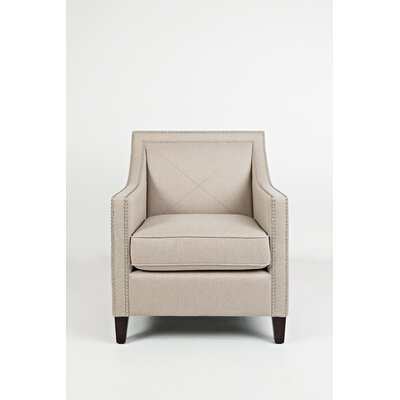Detroit Club Chair Upholstery: Taupe