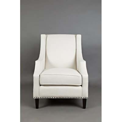 Jaydon Club Chair Upholstery: Ivory