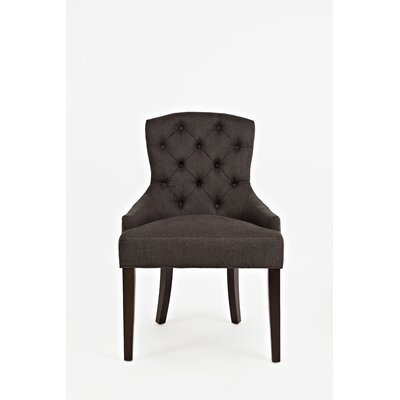 Keating Side Chair Upholstery: Charcoal