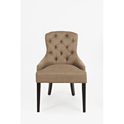 Keating Side Chair Upholstery: Chestnut