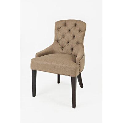 Keating Side Chair Upholstery: Chestnut