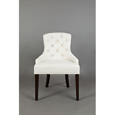 Keating Side Chair Upholstery: Ivory