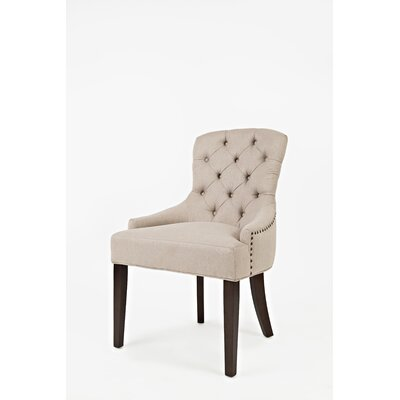 Keating Side Chair Upholstery: Taupe