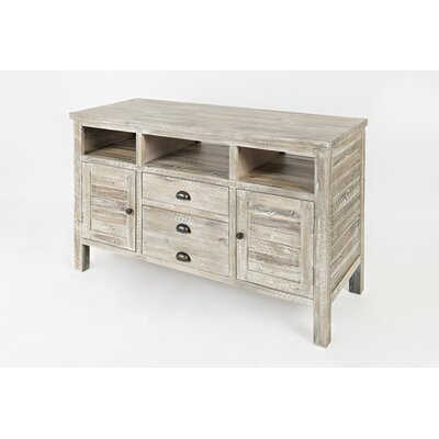 Arviso 50 Entertainment Center Color: Washed Gray