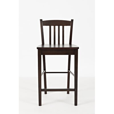 Amandes Low Back Counter Height 24 Bar Stool (Set of 2)