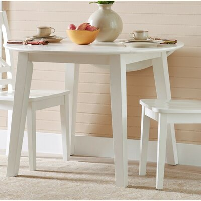 Antrim Drop Leaf Dining Table Color: White
