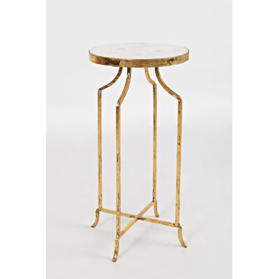 Callimont Marble Round End Table
