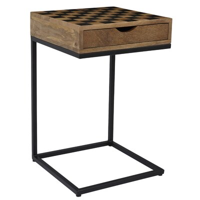 Bulloch Checkerboard End Table