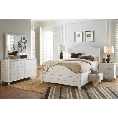 Ginns Storage Panel Bed Size: King