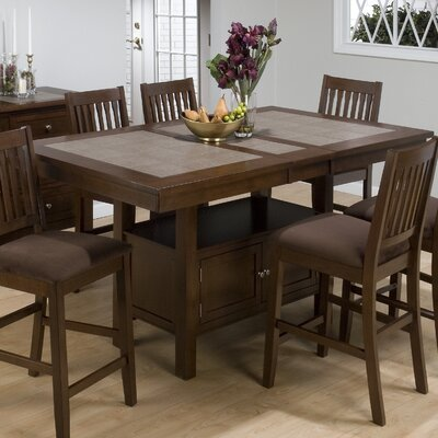 Caleb Counter Height Extendable Dining Table