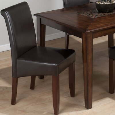 Carlsbad Side Chair (Set of 2) Side Chair Upholstery: Cherry