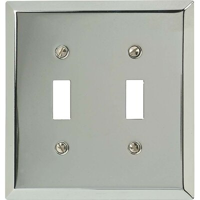 2-Toggle Socket Plate Finish: Chrome