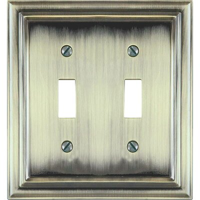 2 Toggle Socket Plate (Set of 3)