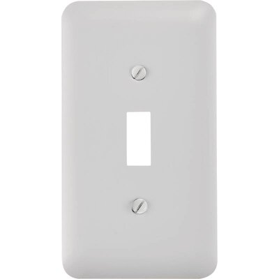 Toggle Socket Plate Finish: White