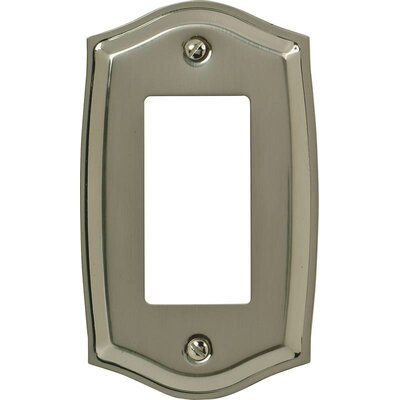 Rocker Socket Plate Finish: Nickel