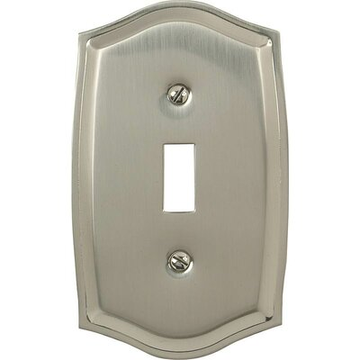 Toggle Socket Plate Finish: Nickel