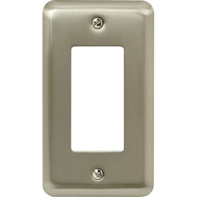 Rocker Socket Plate Finish: Pewter