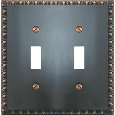 2 Toggle Socket Plate