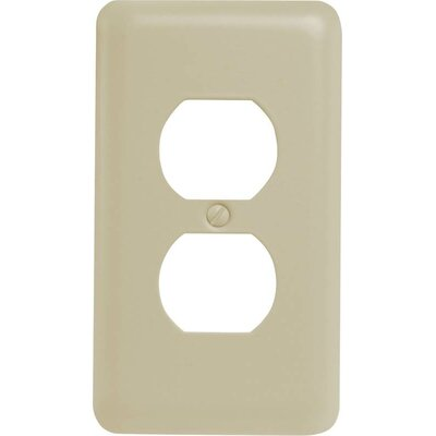 Duplex Socket Plate Finish: Almond