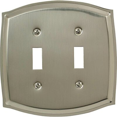 2-Toggle Socket Plate Finish: Nickel