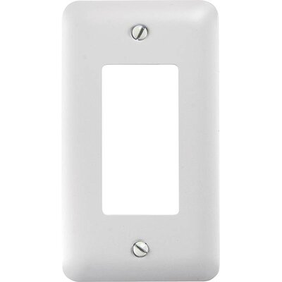 Rocker Socket Plate Finish: White