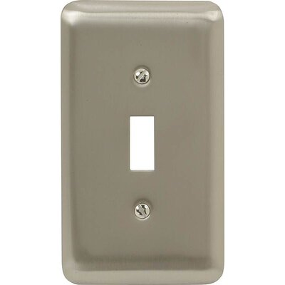 Toggle Socket Plate Finish: Pewter