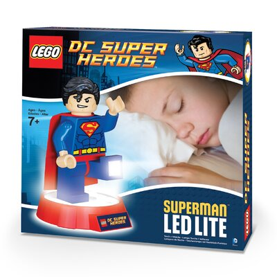 Lego DC Universe Super Hero Superman Torch and Night Light