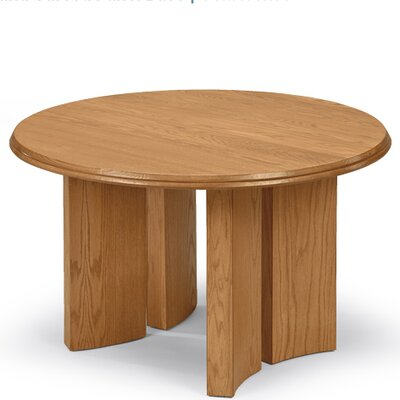 Contemporary Series Circular Conference Table Finish: Mahogany, Size: 4 L Diameter