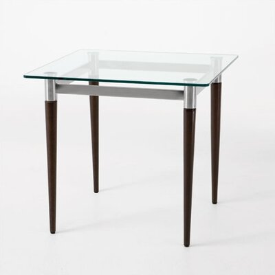 Siena Series End Table Finish: Walnut