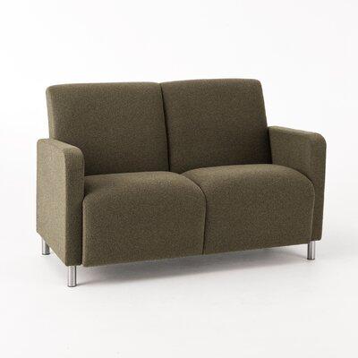 Lesro Ravenna Series Sofa - Finish: Medium, Color: Kilkenny Tweed Charcoal Vinyl at Sears.com