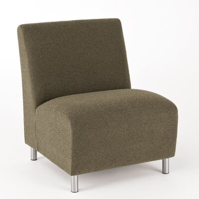 Ravenna Lounge Chair Upholstery: Renaissance Carbon, Casters/Glides: Not Included