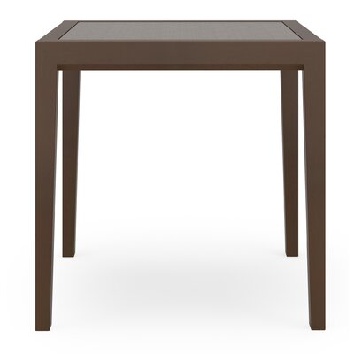 Brooklyn Sarum Twill End Table Frame Finish: Mahogany